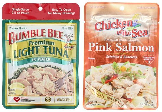 bumble bee tuna packets