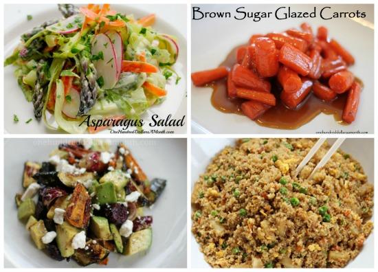 weekly menu plan ideas salads