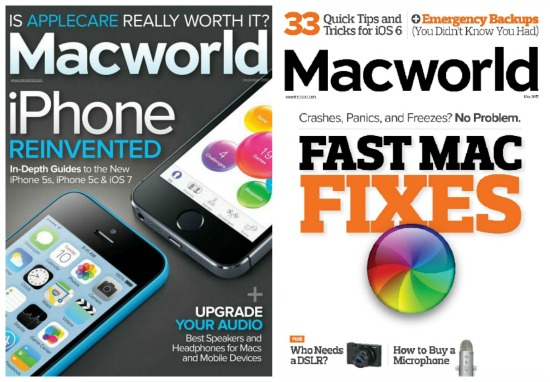 mac world magazine cover