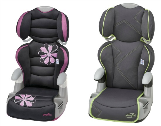 evenflo booster seats