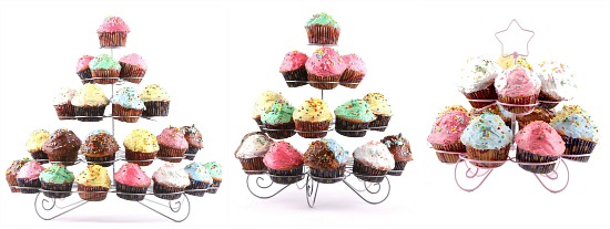 wire cupcake stands