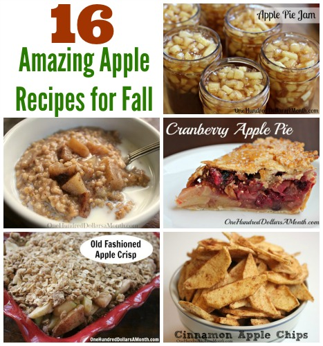 16 Amazing Apple Recipes for Fall