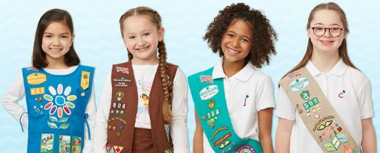 girl scout uniforms