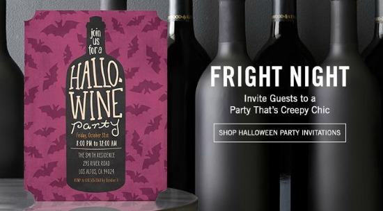 halloween invites