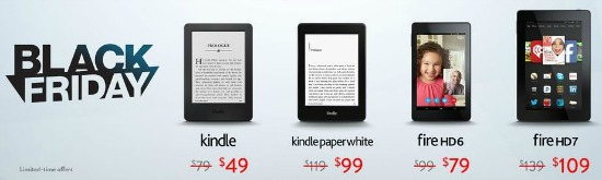amazon black friday kindle deal
