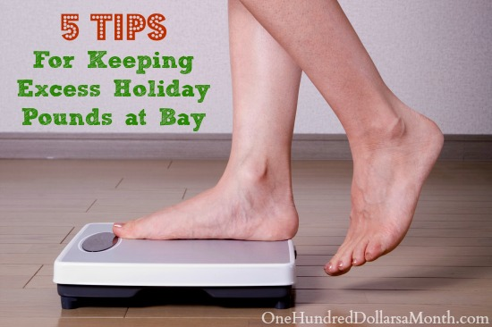 5 Tips for Keeping Excess Holiday Pounds at Bay