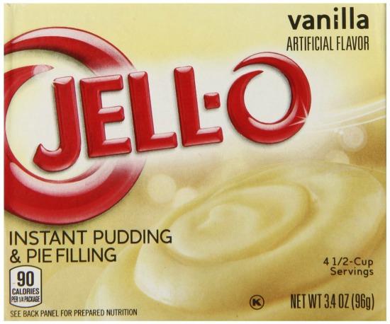 vanilla jello pudding