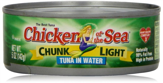 chicken of the sea tuna
