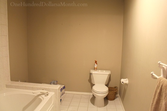 separate room for the toilet