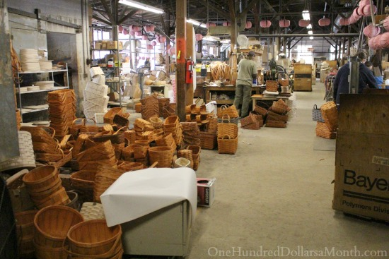 Peterboro Basket Company tour
