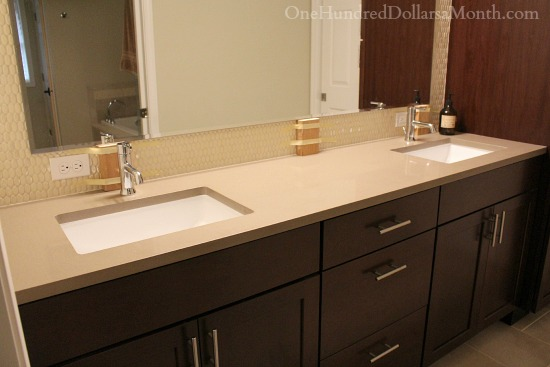 master bathroom cabinets