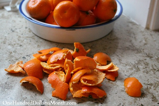 save orange peels