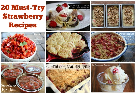 20 Must-Try Strawberry Recipes