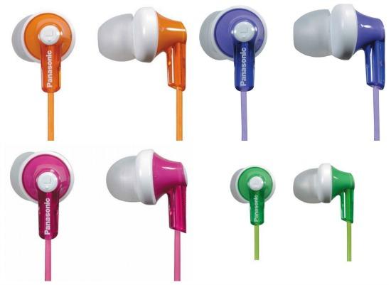 Panasonic RPHJE120A In-Ear Headphone