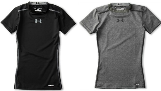 Under Armour Kids HeatGear Sonic Fitted