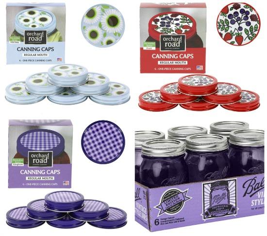 cute canning lids