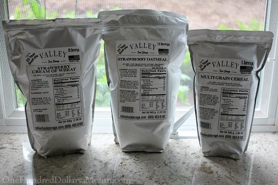 valley food storage breakfast