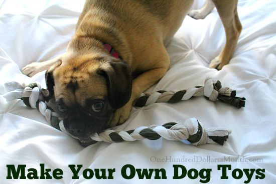 Make Your Own Dog Toys