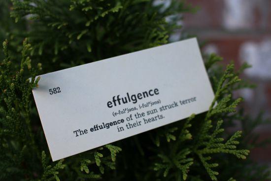 effulgence