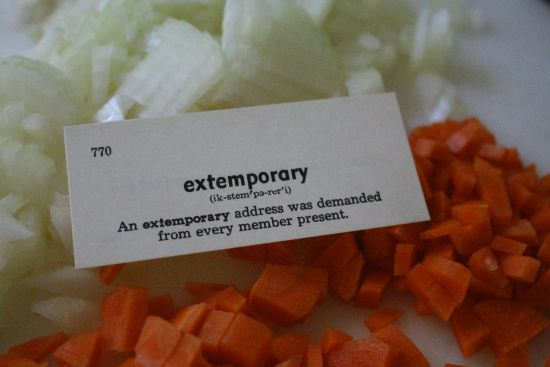 extemporary