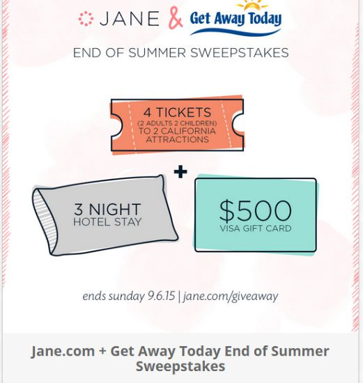 jane sweepstakes