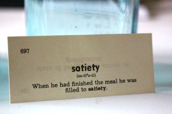 satiety