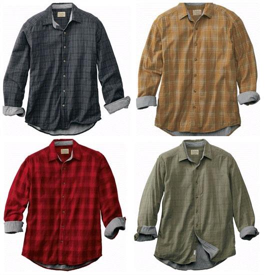lined work shirt