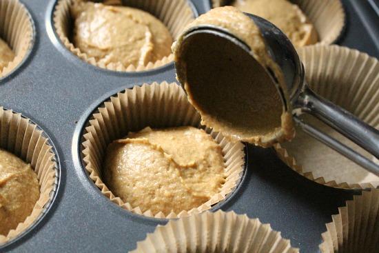 cupcake scoop