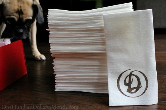 daniels broiler napkins