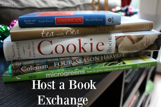 host a book exchange