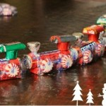 How To Make A Candy Train – Easy Kids Christmas Crafts