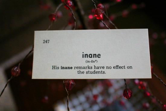 inane