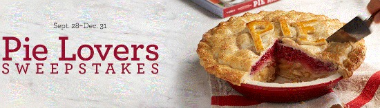 pie lovers sweeopstakes