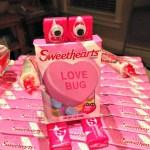 Easy Valentines Craft — Conversation Heart Robots