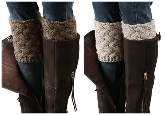 sweater cuffs for tall boots