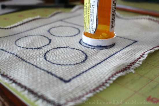 drawing out rug hooking patterns