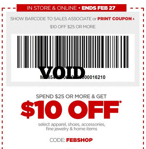 jcpenny coupon