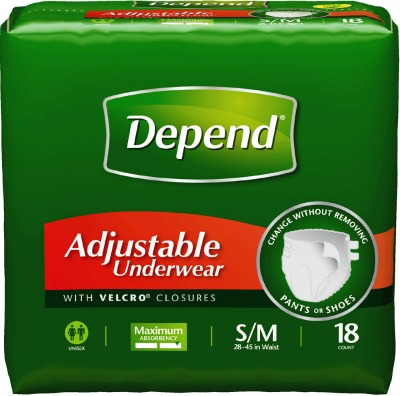 Product Features maximum absorbency for men or women Depend incontinence products for men.