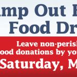 Stamp Out Hunger Food Drive May 14th