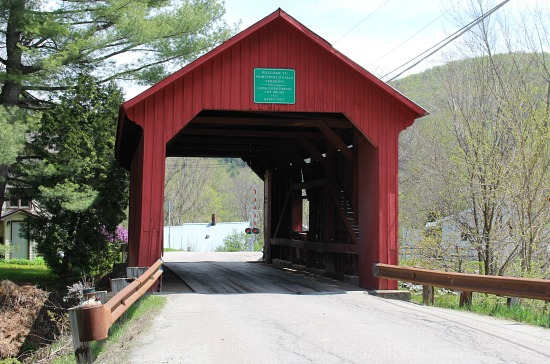 3 Covered Bridges in Northfield, Vermont