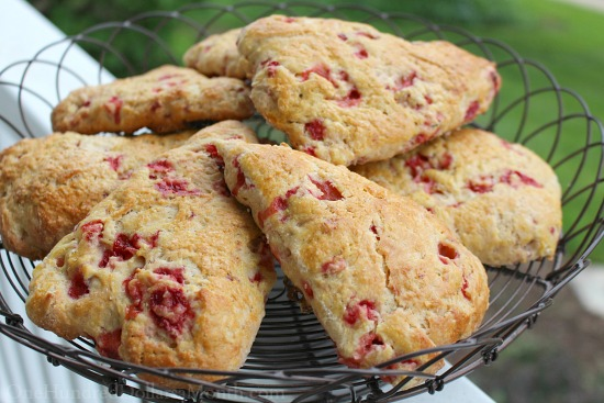recipe for strawberry scones