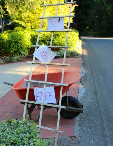 free wheelbarrow