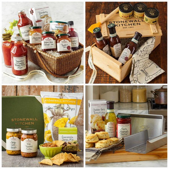 stonewall kitchen gift basket