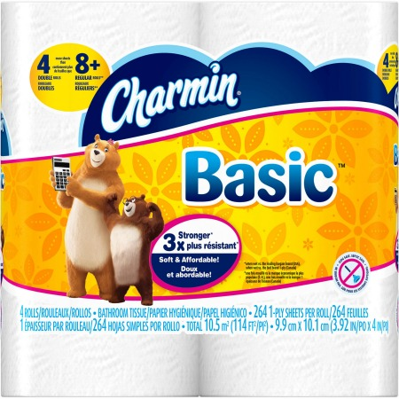 Charmin Basic or Essentials Soft tissue coupon
