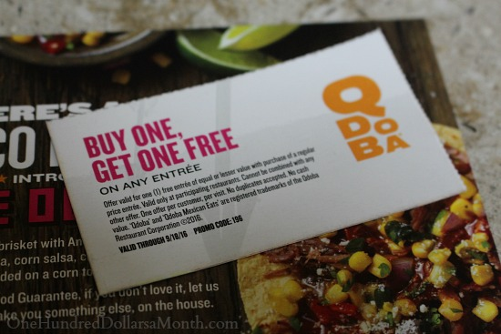 qdoba coupon