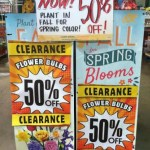 Spring Flower Bulbs 50% off at The Home Depot