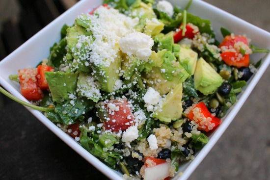 quinoa-salad-with-feta-avocado-and-kale