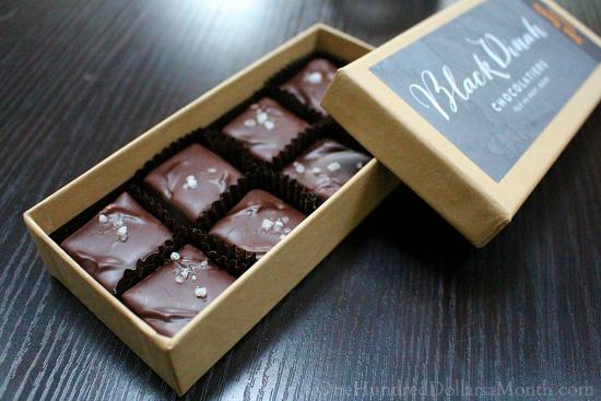 black dinah chocolatiers