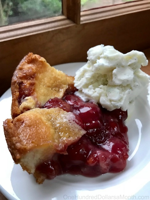 Easy Cherry Cobbler Recipe With Canned Cherry Pie Filling