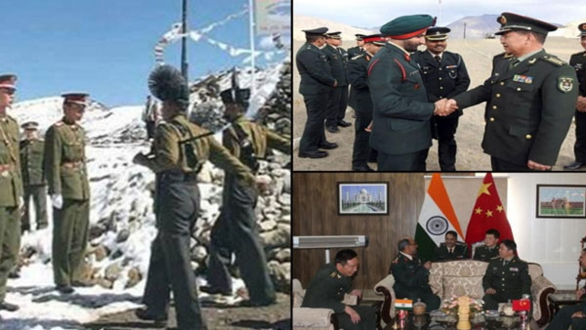 Constructive and positive says China on 7th military commander level talks  with India - Oneindia News